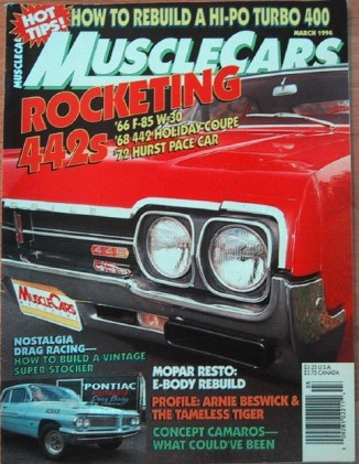 MUSCLE CARS 1994 MAR - 442s, TAMELESS TIGER, 421S/S