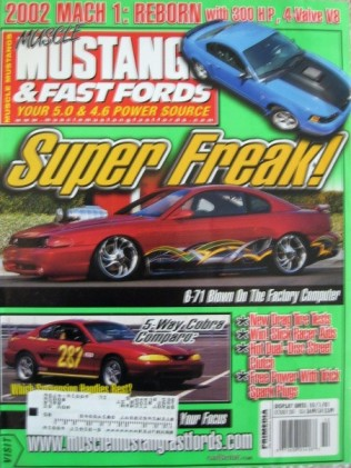 MUSCLE MUSTANGS & FAST FORDS 2001 OCT - 50 YRS NHRA