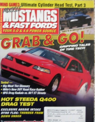 MUSCLE MUSTANGS & FAST FORDS 2003 OCT - STEEDA Q400