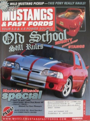 MUSCLE MUSTANGS & FAST FORDS 2004 JUNE - MOD MUSCLE