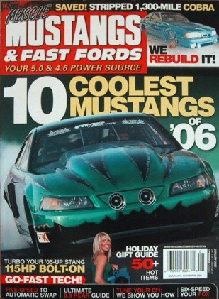 MUSCLE MUSTANGS & FAST FORDS 2007 JAN - 'KINI CALENDAR