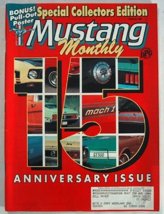 MUSTANG MONTHLY 1993 FEB - SUPER SLEEPER, GT350, CJ