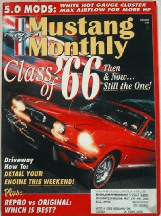 MUSTANG MONTHLY 1995 OCT - MUSTANG GTS, SALEEN*