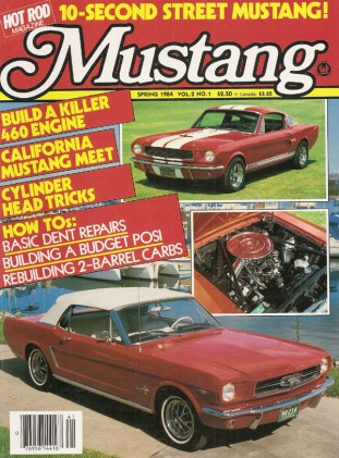 MUSTANG by HOT ROD 1984 SPR V 2, #1 - EARLY GT350s