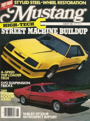 MUSTANG by HOT ROD 1986 AUG V 4, #4 - KAUFMANN's GT