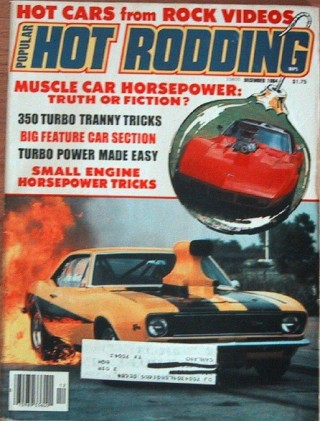 HOT RODDING 1984 DEC - SUPER COOL '55, MUSCLE POWER