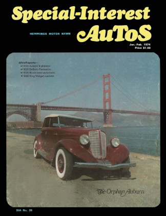 SPECIAL-INTEREST AUTOS 1974 JAN #20 - '68 KING MIDGET,DeSOTO FIREFLITE, CADET