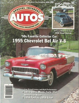 SPECIAL-INTEREST AUTOS 1991 JUNE #123 - SCARAB, SS454
