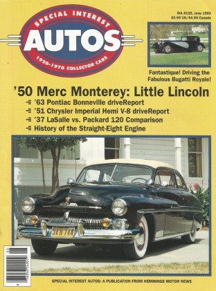 SPECIAL-INTEREST AUTOS 1993 JUNE #135 - BUGATTI ROYALE