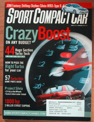 SPORT COMPACT CAR 2003 JUNE - VW R32, Infiniti G35