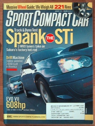 SPORT COMPACT CAR 2003 AUG - Wheels, Acura TSX