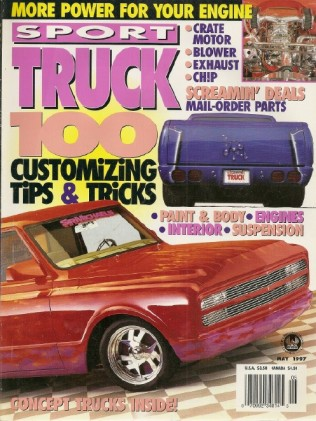 SPORT TRUCK 1997 MAY -