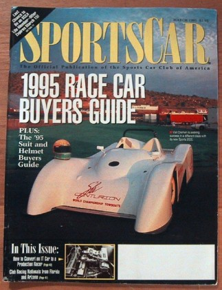 SPORTS CAR 1995 MAR - ROAD RALLY CHAMPS, NEW CARS