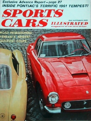 SPORTS CARS ILLUSTRATED 1960 OCT - 250GT, NEW TEMPEST, FERRARI 250/CT BERLINETTA