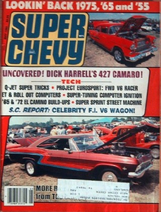 SUPER CHEVY 1985 MAY - HARRELL's 496 FOUND, SS454