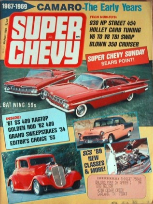 SUPER CHEVY 1989 MAR - RABID RAT, MIGHTY MOUSE