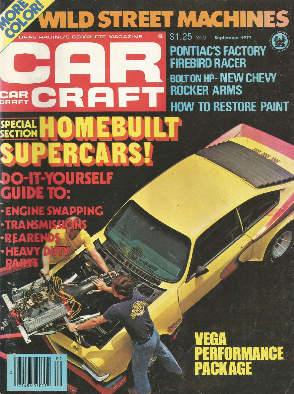 CAR CRAFT 1977 SEPT - NEW TRANS AM, POLICE PACKAGE* - 1970-1979 - JIM'S  MEGA MAGAZINES