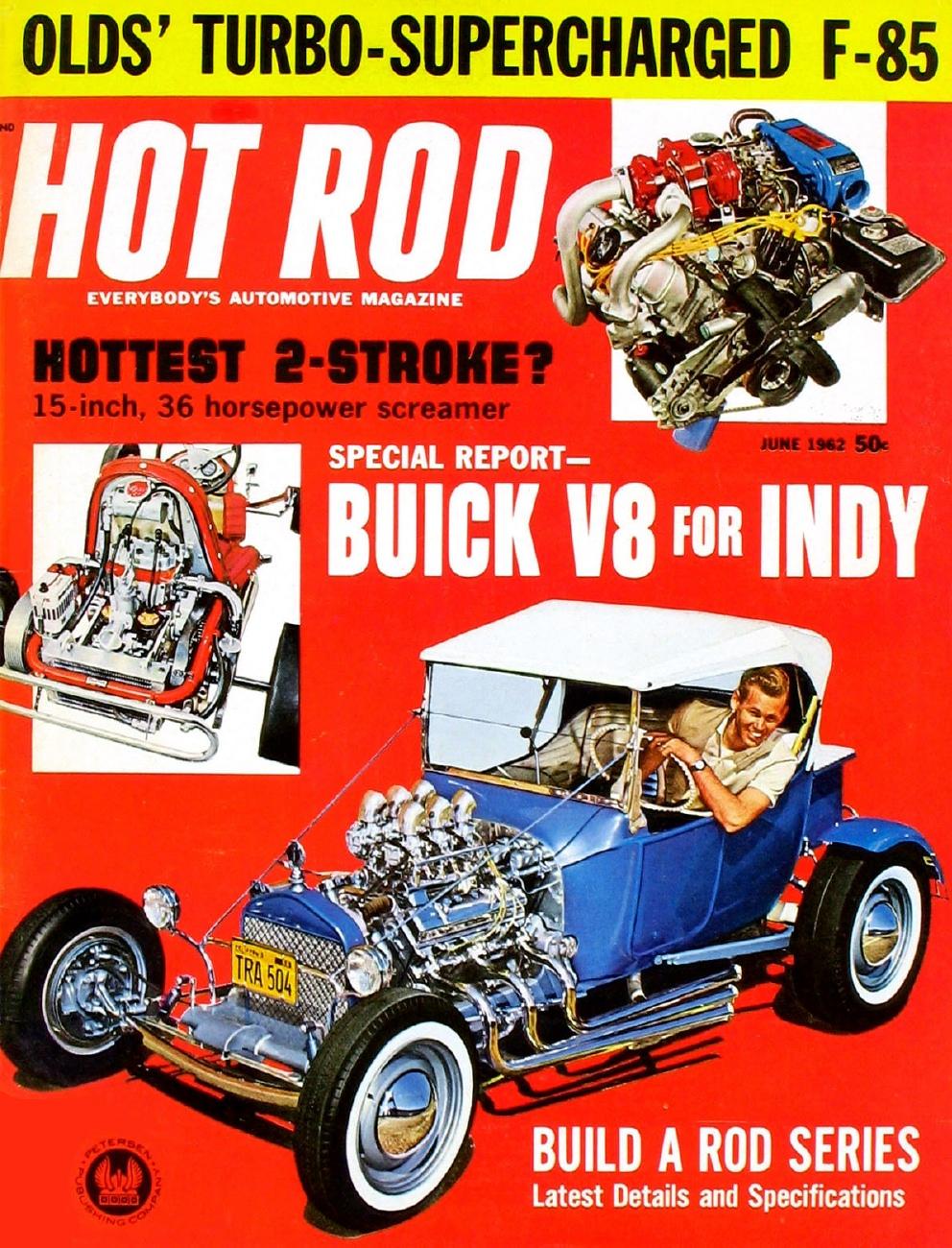 HOT ROD 1962 JUNE - HENRY J, CHRYSLER 300 SS/SA* - 1960-1969 - JIM'S MEGA  MAGAZINES