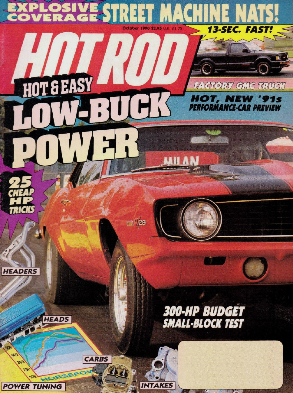 HOT ROD 1990 OCT - SYCLONE, NASH, REHER-MORRISON* - 1990-1999 - JIM'S MEGA  MAGAZINES